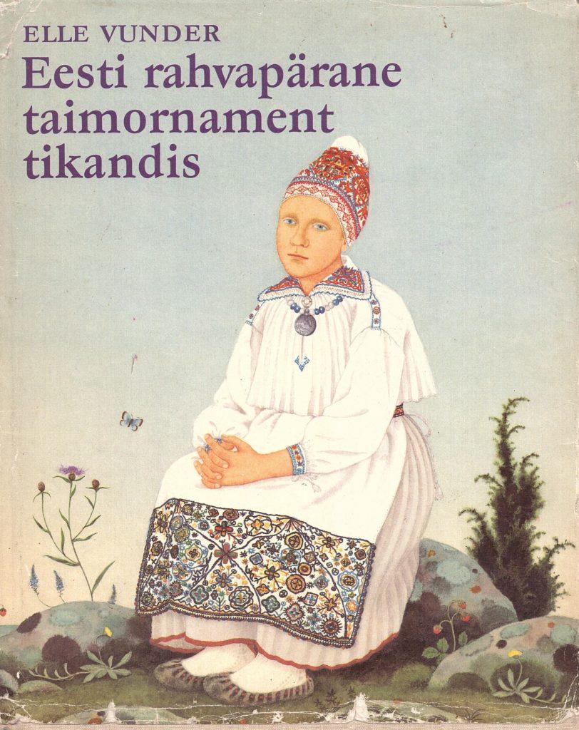 Eesti rahvapärane taimornament tikandis